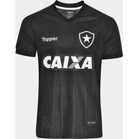 Camisa Botafogo Ii 2018 S/N° Torcedor Topper Masculina - Masculino