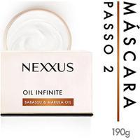 Máscara De Tratamento Nexxus Oil Infinite 190G - Unissex-Incolor
