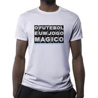 Camiseta O Futebol É Um Jogo Mágico Masculina - Masculino