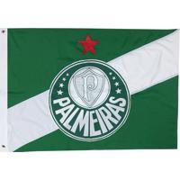 Bandeira Palmeiras Tradicional 2 Panos Verde