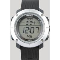 Relógio Digital Mormaii Masculino - Mo0700Ab8C Prateado - Único