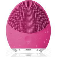 Esponja Elétrica De Limpeza De Pele Facial Massageadora De Silicone Pink