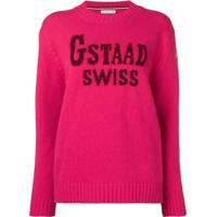 Moncler Suéter 'Gstaad Swiss' - Rosa