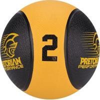 Bola Medicine Ball - Pretorian - Unissex
