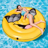 Boia Ilha Emoji Cool Guy Amarela 57254 Intex