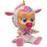 Boneca Crybabies Dreamy Com Chupeta Alimentação 2 Pilhas Aaa Indicado Para +4 Anos Multikids Br1029