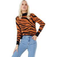 Suéter Tricot Animal Print