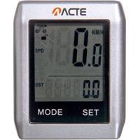 Ciclocomputador Sem Fio Para Bicicletas 16 Funções Com Tela Touchscreen - Acte Sports A32
