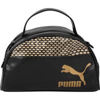 Bolsa Puma Mini Bag Archive Mini Grip Gold Feminina - Feminino