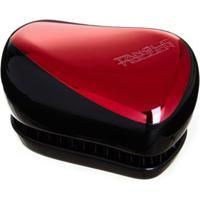 Compact Style Tangle Teezer - Escova Para Os Cabelos Red Chrome - Unissex-Vermelho