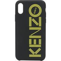 Kenzo Capa Para Iphone X/Xs Com Estampa De Logo - Preto
