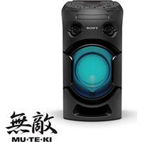 Mini System V21D Tipo Torre Com Dvd E Conexão Hdmi Arc Para Fácil Conexão Com A Tv Mhc-V21D   Mhc-V21D//M Br1