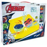 Carrinhos De Brinquedo Dos Vingadores Marvel Gyro Hero Dtc
