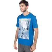 Camiseta Oxer Wild - Masculina - Azul