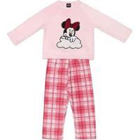 Pijama Infantil Manga Longa Disney Minnie Feminino - Feminino-Rosa