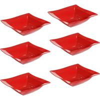 Saladeira Vemplast Moove Vermelho - Vermelho - Dafiti