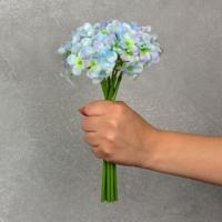 Flor Artificial Hortência Verde