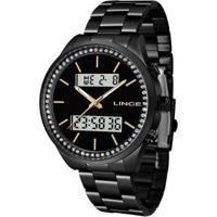 Relógio Lince Urban Lan4591Lp1Px Feminino - Feminino-Preto