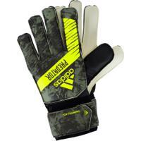 Luvas De Goleiro Adidas Predator Top Training - Adulto - Verde Escuro