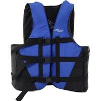 Colete Náutico Nautika Coast Salva Vidas Flutuante 90 Kg Azul