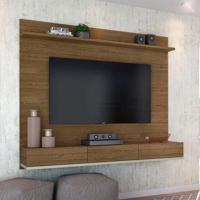Painel Para Tv 60 Polegadas Winterfel Rústico E Off White 180 Cm
