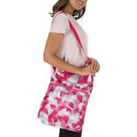Bolsa Puma Core Seasonal Shopper - Feminina - Rosa/Cinza