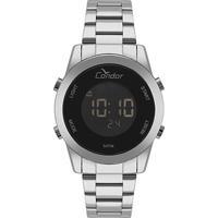 Relógio Condor Digital Cobj3279Ab/3P Feminino - Feminino-Prata