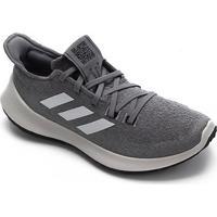 Tênis Adidas Sensebounce Masculino - Masculino-Cinza+Branco