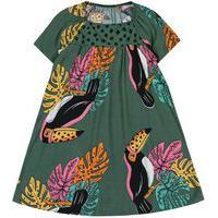 Vestido Infantil Nanai Verde