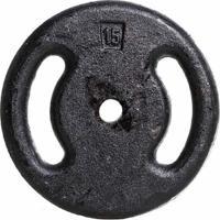 Anilha De Ferro Fundido Pintada Musculação Yangfit 15Kg - Unissex