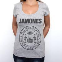 Jamones - Camiseta Clássica Feminina