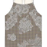 Blusa Com Alças Estampada Tecido Haig - Lez A Lez