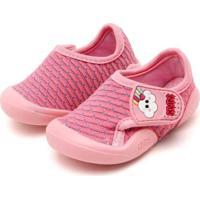Tênis Infantil Klin New Confort Feminino - Feminino-Rosa