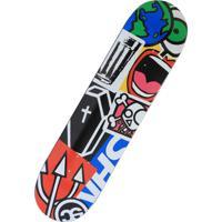 Shape Nineclouds Skateboards Shn Collab Azul