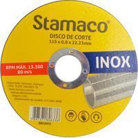 Disco De Corte Para Inox 115X8X22,23Mm