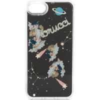 Fiorucci Capa Para Iphone 7/8 Liquid Space Angels - Preto