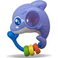 Chocalho Zoop Toys Golfinho Colorido