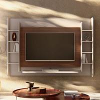 Painel Para Tv Até 65 Polegadas Eros Ii Gianduia E Dakota 221,5 Cm