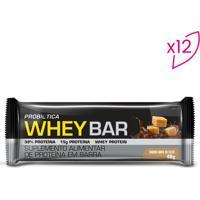 Whey Bar®- Doce De Leite- 12 Unidades- Probióticprobiotica