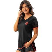 Camiseta Flamengo Feminina Right Braziline - Feminino