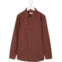 Knot Camisa Xadrez - Vermelho