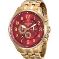 Relógio Seculus Masculino Chronograph 20519Gpsvda2