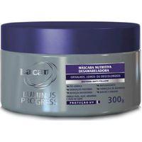 Lacan Luminus Progress Máscara Nutritiva Desamareladora 300G