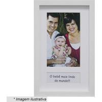 Porta Retrato Baby Love- Branco- Tamanho Da Foto: 10Kapos