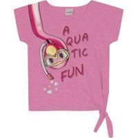 Blusa Infantil Aquatic Rosa