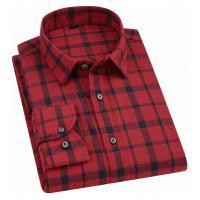 Camisa Xadrez Blandford Flanelada Masculina - Vermelha