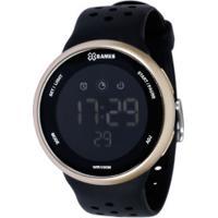 Relógio Digital X Games Xmppd547 - Masculino - Preto/Ouro