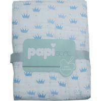 Cobertor Soft Príncipe - Coroa Azul