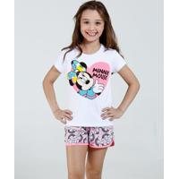 Pijama Infantil Minnie Disney Marisa