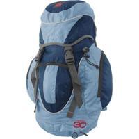 Mochila Camping Cargueira Nimbus 30 Litros Trilhas E Rumos - Unissex-Azul